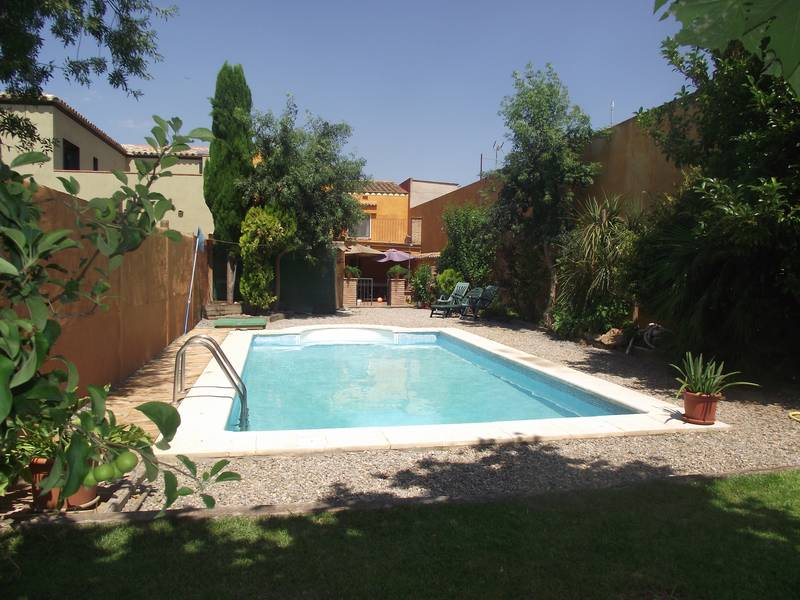 maison avec piscine 4 chambres climatisation jardin fortia empuriabrava roses - Location Villa Piscine Costa Brava