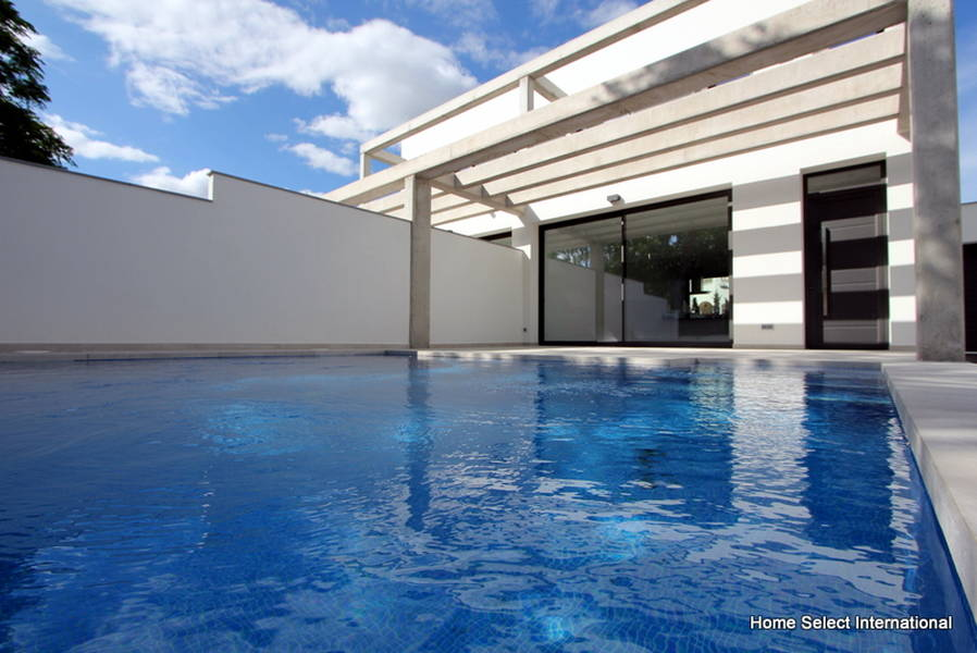 House Under Pool modern houses under construction empuriabrava