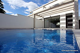 Modern houses new construction with pool Empuriabrava